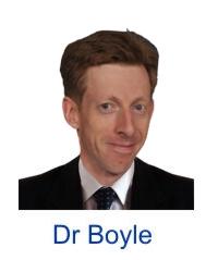 Dr Robert Boyle Paediatric allergist London